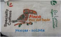 ボリビア ピコ・デル・トゥカン農園